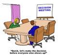 Decision Meeting