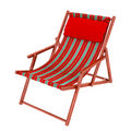 Deck or beach chair Royalty Free Stock Photos