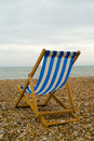 Deckchair Obraz Royalty Free