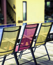 Deckchairs, Stock Photo