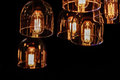 Decor interior lighting close up Royalty Free Stock Photo