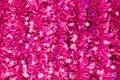 A decoração de violet new year Fotos de Stock