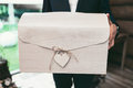 Decorated big wedding gift box