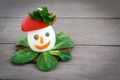 Decorated boiled Egg Royalty Free Stock Photography