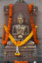 Decorated Buddha statue Stock Image
