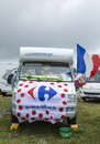Decorated Caravan - Tour de France 2014