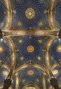 Decorated Ceiling into Church of All Nations Royalty Free Stock Photo