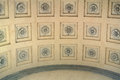 decorated ceiling Royalty Free Stock Photo
