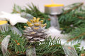 Decorated Cone On The Advent W...