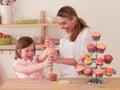 Decorating Cakes Royalty Free Stock Photo