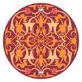 Decoration abstract ornament illustration of mandala