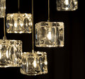Decoration closeup view of contemporary light fixture Royalty Free Stock Image