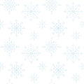 Decoration snowflakes seamless background pastel white and blue Stock Images