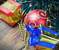 Decorations for Christmas and New Year's Royalty Free Stock Image