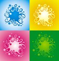 Decorative abstract pattern Royalty Free Stock Photo
