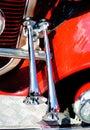 Decorative air horn on the car Stock Photography