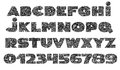 Alphabet - Tattoo Vector Font.