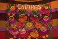 Decorative art from chiapas Royalty Free Stock Photo