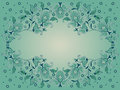Decorative background with paisley Royalty Free Stock Photos