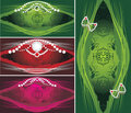 Decorative backgrounds for jewelry design Royalty Free Stock Image