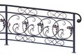 Decorative banisters. Royalty Free Stock Photo