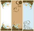 Decorative banners Stock Photos
