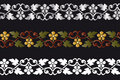 Decorative border Royalty Free Stock Photo