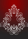 Decorative border ornament.  Graphic arts. Royalty Free Stock Photo