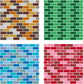 Decorative brick Royalty Free Stock Photos