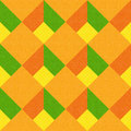 Decorative checkered pattern - seamless background - citrus texture Royalty Free Stock Photo
