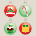 Decorative Christmas Ball Illustrations Stock Image