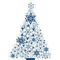 Decorative christmas tree Royalty Free Stock Photo