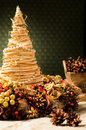 Decorative christmas tree Royalty Free Stock Photo