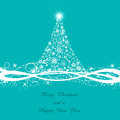 Decorative christmas tree background for and the new year Stock Photos