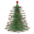 Decorative christmas tree toy see my other works in portfolio Stock Images