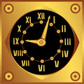 Decorative clock Stock Photos
