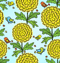 Decorative colorful funny seamless pattern Royalty Free Stock Photography