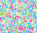 Decorative colorful musical background Royalty Free Stock Photos
