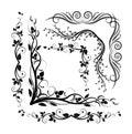 Decorative corners Royalty Free Stock Photo