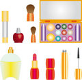 Decorative cosmetics Stock Photo
