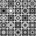 Decorative design elements. Stock Photos