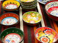 Decorative Dishes Royalty Free Stock Photography
