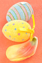 Decorative Easter Eggs Royalty Free Stock Photos