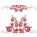 Decorative element Royalty Free Stock Photography