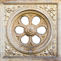 Decorative element of a cathedral Royalty Free Stock Photography