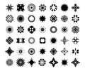 Decorative element set graphic Stock Photo