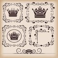 Decorative elements Royalty Free Stock Photo