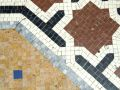 Decorative floor mosaic Royalty Free Stock Photography