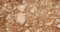 Decorative floor texture with gravel stones Royalty Free Stock Image