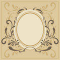 Decorative frame Royalty Free Stock Image